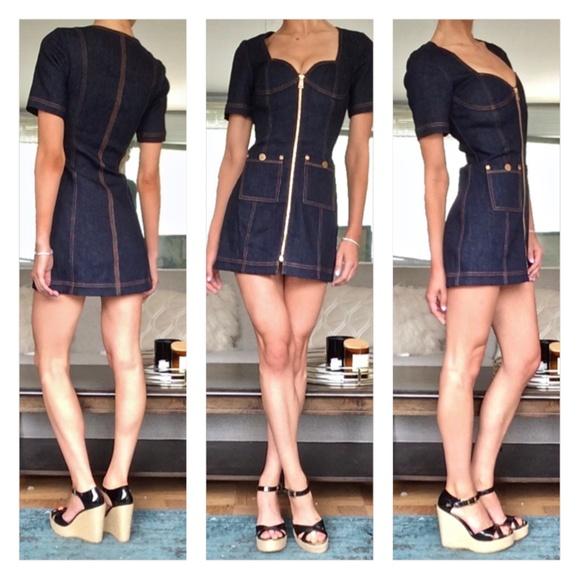 Alice McCall Dresses & Skirts - Alice McCall Bloomsbury Denim Mini Dress